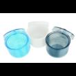 Fúrófertőtlenítő doboz, szűrővel, műanyag, színes, 1 db