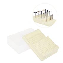 Fúrótartó 168 lyukkal (144RA + 24FG), műanyag, fehér, 1 db