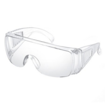 Orvosi védőszemüveg, átlátszó, páramentesítő, 1db / doboz