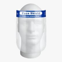 Gumis fejpántos fix arcvédőpajzs, 1 db
