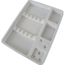 Fogászati műanyag tálca, egyszer használatos, 100 db