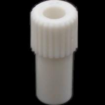 Adapter exhaustorra, fehér műanyag, kis, 1 db