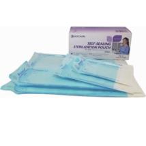 Sterilizáló tasak, 200 db, öntapadós, indikátoros, svéd papír