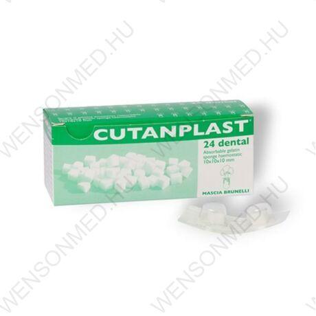 Cutanplast vérzéscsillapító zselatin szivacs, 10x10x10, 24 db