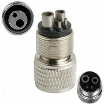Fogászati Tömlő átalakító adapter, 4 lyukról - 2 lyukra