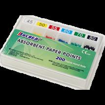 Papír point, (Taper 0.02), színjelzett, 200 db, több méretben
