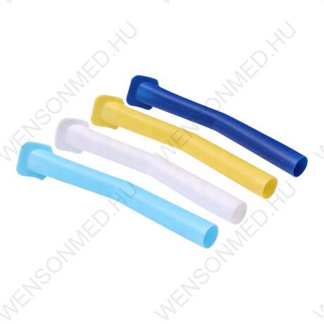 Elszívókanül, műanyag, széles végű, autoklávozható, 1 db, többféle színben