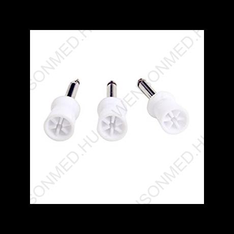 Polírozó gumi, kehely forma, fehér, 6 lamellával, 1 db