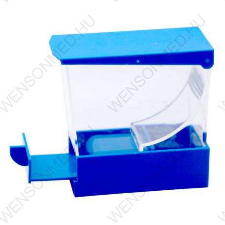 Vattarolni tartó, kék, húzós 1 db